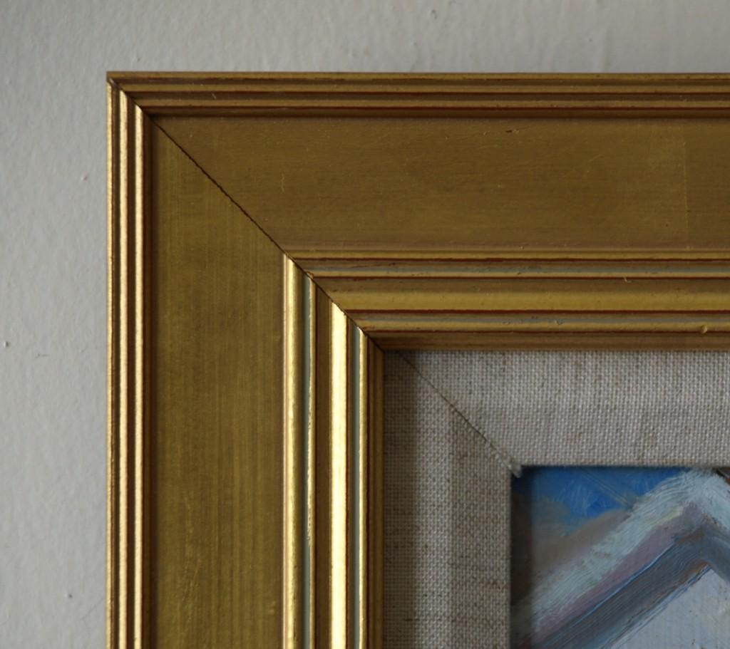Gold Frame - Thick Inside Ribbing