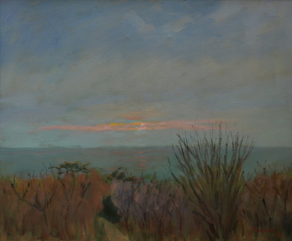 Early Morning - Cape Cod, Oil on Canvas, 20 x 24 Inches, by Richard Stalter, $650